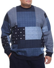 Men - Patch Work Sweatshirt (B&T)