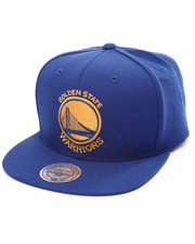 Mitchell & Ness - Golden State Warriors Wool Solid Snapback Cap