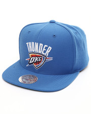 Mitchell & Ness - Oklahoma City Thunder Wool Solid Snapback Cap