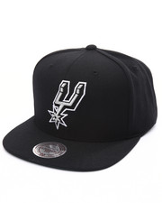 Mitchell & Ness - San Antonio Spurs Wool Solid Snapback Cap