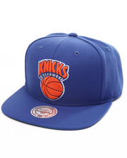 Mitchell & Ness - New York Knicks Wool Solid HWC Snapback Cap