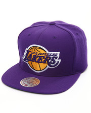 Mitchell & Ness - Los Angeles Lakers Wool Solid Snapback Cap