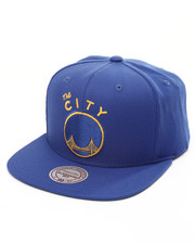 Mitchell & Ness - Golden State Warriors Wool Solid HWC Snapback Cap