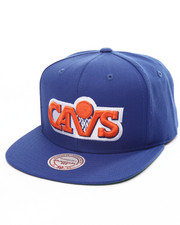 Mitchell & Ness - Cleveland Cavaliers Wool Solid HWC Snapback Cap