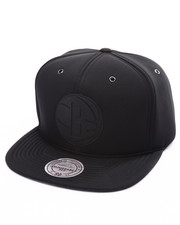 Men - Brooklyn Nets Neoprene Strapback Cap