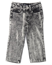 Boys - HEAVY ACID WASH JEANS (2T-4T)