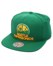 Men - Seattle Supersonics Wool Solid HWC Snapback Cap