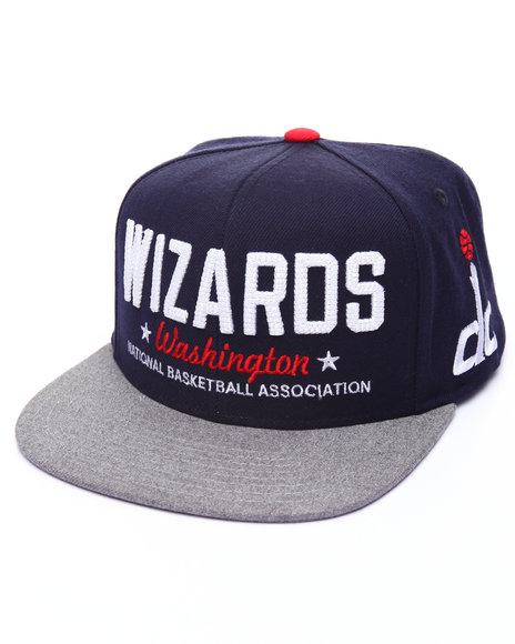 Adidas Men Washington Wizards Marquee Snapback Hat Navy 1SZ
