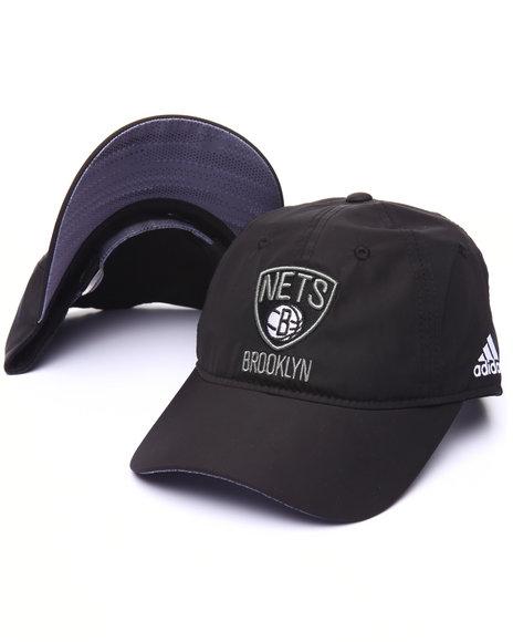 Adidas Men Brooklyn Nets Slouch Adjustable Hat Black 1SZ