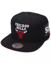 Mitchell & Ness - Chicago Bulls 50th Year Anniversary Snapback Cap