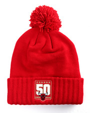 Men - Chicago Bulls 50th Year Anniversary Pom Beanie