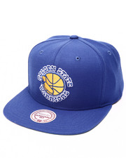 Men - Golden State Warriors Wool Solid HWC Snapback Cap