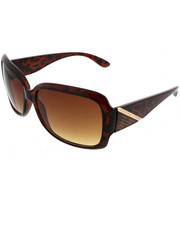 Sunglasses - Square w/ Diagonal Metal Bar Design
