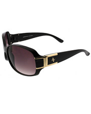 Accessories - Square Metal Deco Temple Sunglasses