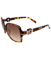 Accessories - Large Square Chain Link Metal Deco Sunglasses