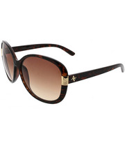 Accessories - Oversize Round w/ Metal Stones Deco Sunglasses