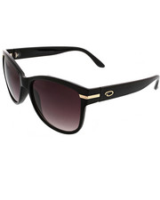 Sunglasses - Deep Square Metal Accent Sunglasses