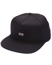 Men - Micro Metal Logo Snapback