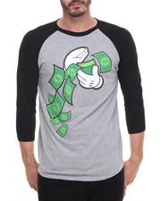 Men - Make It Rain Raglan Tee