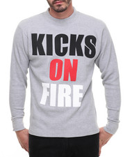 Men - Kicks On Fire Raglan Tee