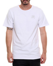 T-Shirts - TAPING FRENCH TERRY HI LOW TEE