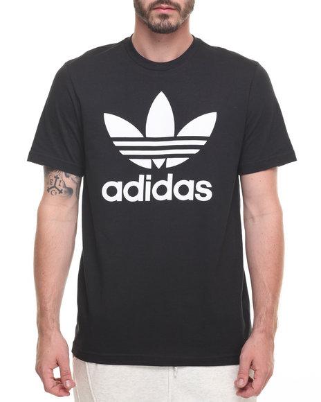 Adidas Men Originals Trefoil SS Tee Black Medium