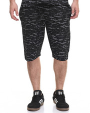 Men - Textured print Sweatshort