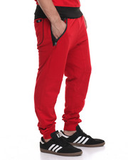 Buyers Picks - Colorblock Jogger-Red