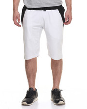 Men - Colorblock Short- White