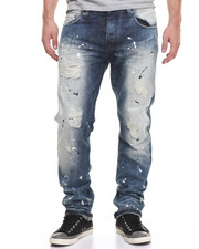 Men - SPLASH DENIM JEANS