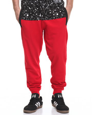 Men - Paint Splatter Jogger Red