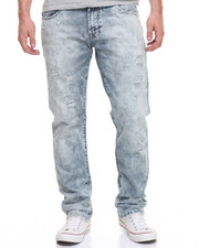 Men - FADED ACID DENIM JEANS