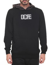 DOPE - Leopard Logo Pullover