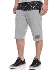 Buyers Picks - Paint Splatter Short -Grey