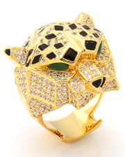Jewelry & Watches - 14K 3D Gold Leopard Ring