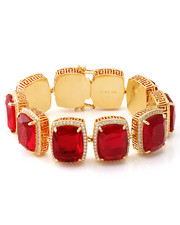 Accessories - 14K Gold Ruby Crown Julz Bracelet