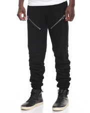 Men - Shirred Fleece Jogger