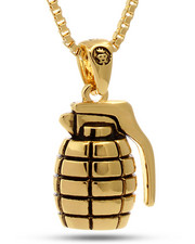 Men - 18K Gold 'Nade Necklace