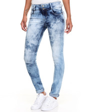 Women - Buttlifter Cloud Wash Stretch Skinny Jean