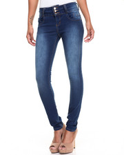 Jeans - Buttlifter 3-Button Stretch Skinny Jean