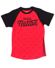 Tops - PARISH NATION ELONGATED TEE (8-20)