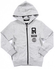 Boys - FRENCH TERRY MELANGE YOUNG RIDERS HOODY (4-7)