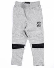 Boys - FRENCH TERRY MELANGE YOUNG RIDERS JOGGERS (2T-4T)
