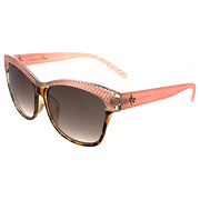Women - Catty Textured Raised Top Sunglasses