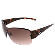Women - Backmounted Shield Croc Temple Sunglasses