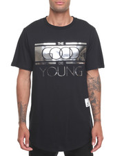 T-Shirts - Good Die Young Zip Tee-Silver Plate