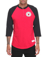 Men - Chicago Bulls NBA Unbeaten Henley Tee