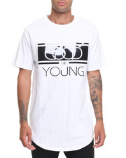T-Shirts - Good Die Young Zip Tee-Black Plate