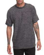 Men - HEAVY GAUZE REVERSE COLLAR S/S TEE