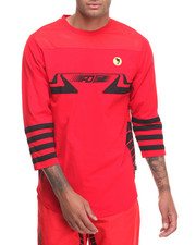 T-Shirts - SPEED JERSEY - KNIT EXTENDED 3/4 - SLEEVE RAGLAN